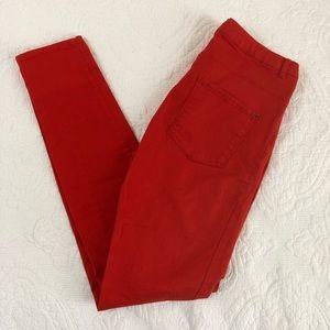 4/$20 H&M Red Skinny pants